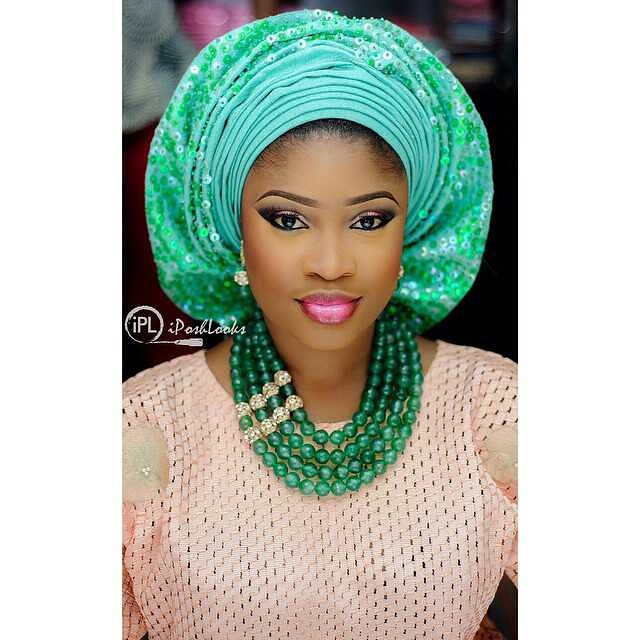 Fashion Gallery Gele Style Make Up By Iposhlooks