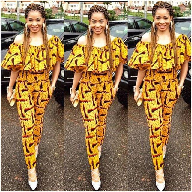 Fashion Gallery Ankara Trousers For Women Mimiwhyte Amillionstyles
