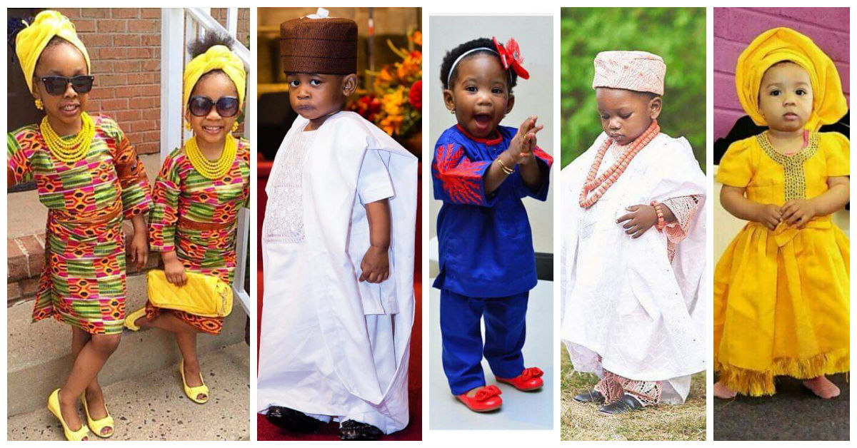 14 Awesome Traditional Wedding Attires For Kids