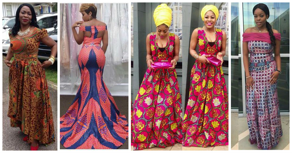 Latest Full Gown Ankara Styles We Love