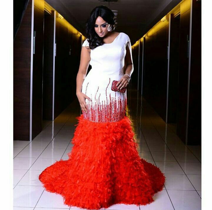 Juliet Ibrahim's Eye Catching Gown Collections on amillionstyles @julietibrahim