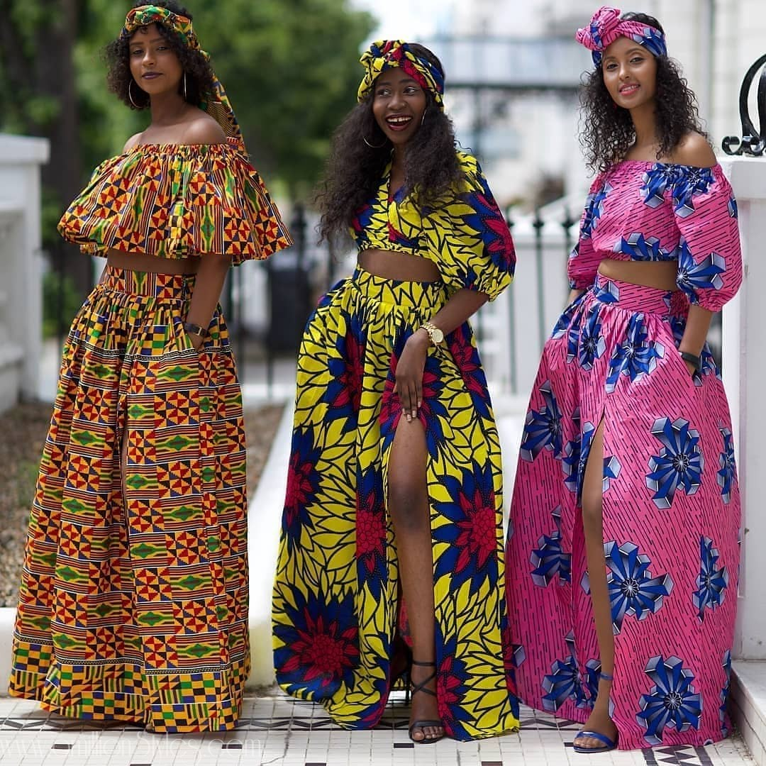You'll Definitely Say Yes To These 9 Stylish Ankara Skirts