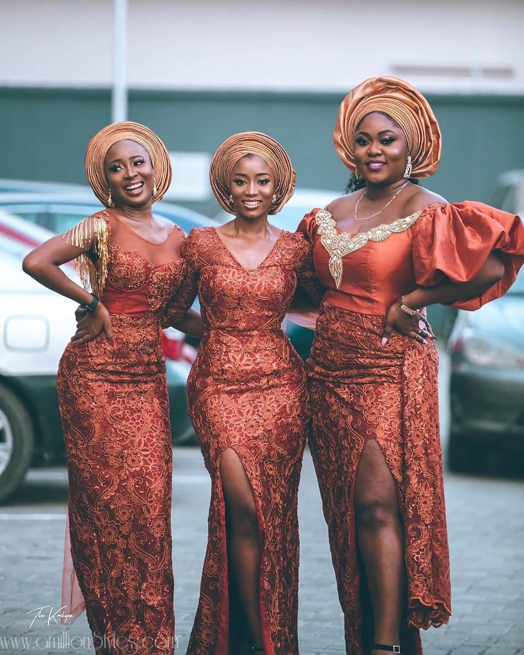 Latest Nigerian Lace Styles and Designs-Volume 34